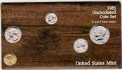UNITED STATES Mint Set 1985 UNCIRCULATED COIN SET